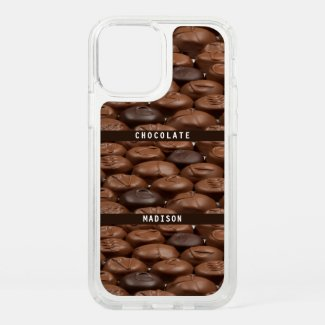 Custom Name Chocolate Candy Truffles Food Lover Speck iPhone Case by Sandyspider