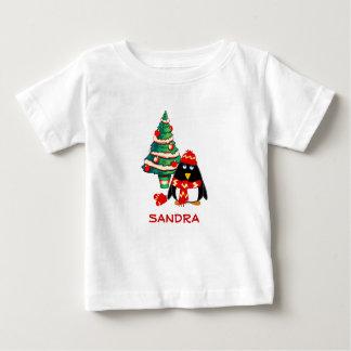Custom Name. Christmas Kids T-Shirt