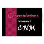 CUSTOM NAME Congratulations - CNM Greeting Card