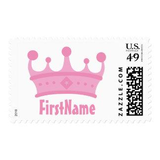 Custom Name Crown Stamp