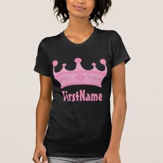 Custom Name Crown T-shirts