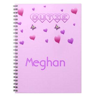 Custom Name Cutie Notebook