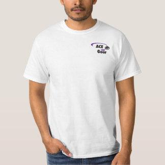 Custom Name - Disc Golfer -  Purple  Yellow T-Shirt
