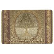 Custom Name Family Tree Floor Mat (<em>$36.89</em>)