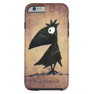 Custom Name Funny Black Crow/Raven Tough iPhone 6 Case