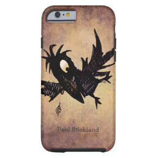 Custom Name Funny Flying Black Crow/Raven Tough iPhone 6 Case