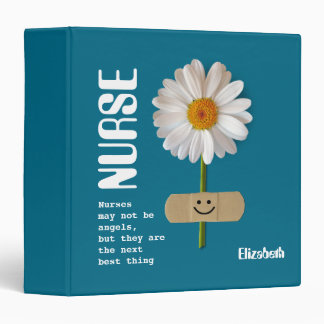 Custom Name Gift Binder for Nurses