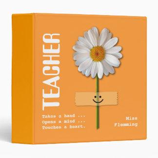 Custom Name Gift Binder for Teachers