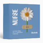 Custom Name Gift Binders for Nurses