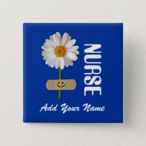 Custom Name Gift Buttons for Nurses