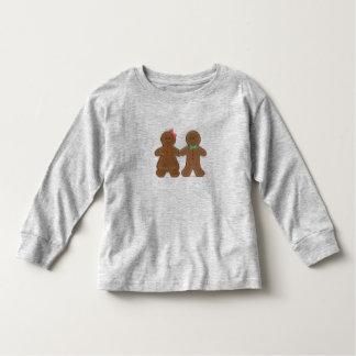 Custom Name Gingerbread Cookie Boy & Girl Toddler Shirt