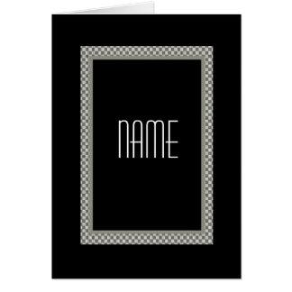 CUSTOM NAME Groomsman Wedding Invitation Greeting Card