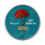 Custom Name. Happy Doctors' Day Gift Candy Tins