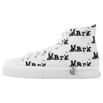 Custom Name High-Top Sneakers