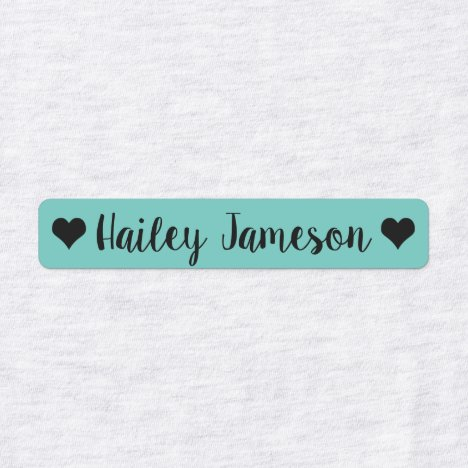 Custom Name kids Clothing Labels, daycare labels