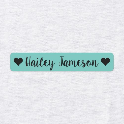 Custom Name kids Clothing Labels, daycare labels