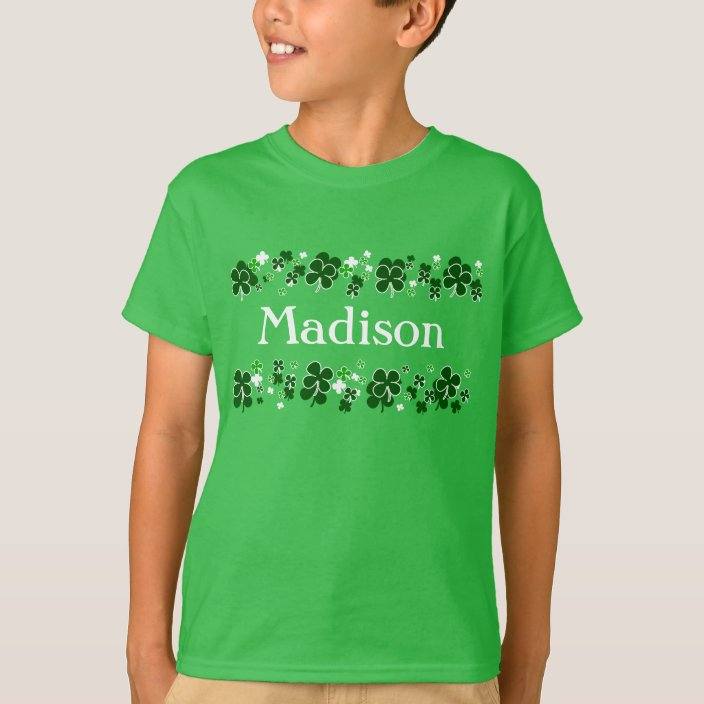 HAPPY ST PATRICKS DAY ireland irish present paddys gift ideas boys girls T SHIRT