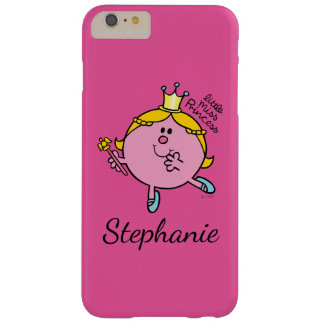 Custom Name Little Miss Princess | Royal Scepter Barely There iPhone 6 Plus Case