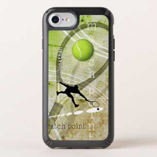 custom name match point men's tennis speck iPhone case