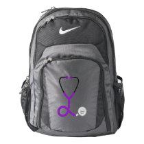 Custom Name | Medical Stethoscope | Doctor Nurse Backpack