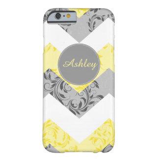 Custom name, monogram pattern iPhone 6 case