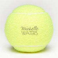Custom Name Monogram Tennis Ball