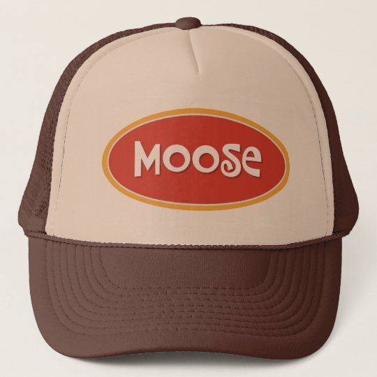 39109e80a65af Custom name Moose Trucker Hat