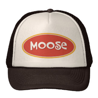 Custom name Moose Trucker Hat