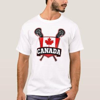 Custom Name & Number Canadian Lacrosse T-Shirt