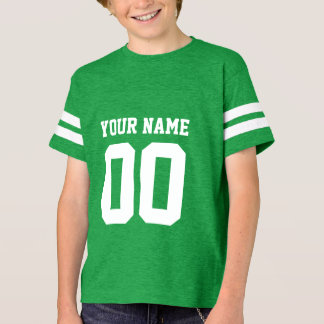 Custom Name Number Kids' Football Jersey Shirt