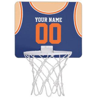 Custom mini basketball hoops zazzle custom namenumber mini basketball hoop negle Gallery