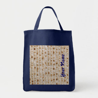 CUSTOM NAME PASSOVER MATZOH SCHLEPPER BAGS