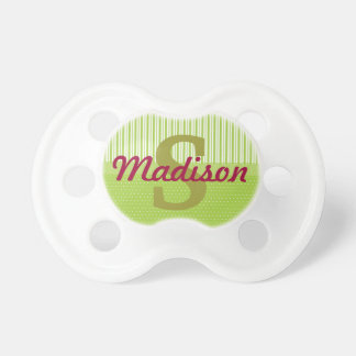 Custom Name Personalized Baby Girl Pacifier