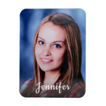 Custom Name Personalized Photo Magnet
