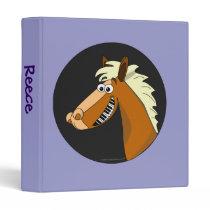 Custom Name Piano Horse Music Binder Template