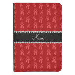 Custom name red ballet shoes kindle touch case