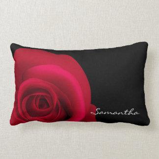 Custom Name Red Rose Pillows