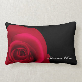 Custom Name Red Rose Pillows Pillows