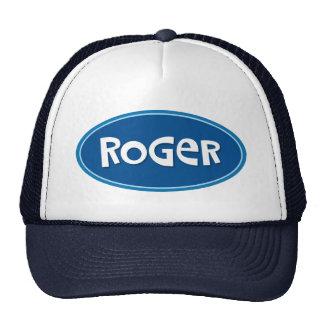 Custom name Roger Trucker Hat