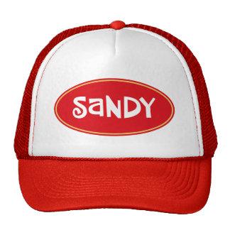 Custom name Sandy Trucker Hat