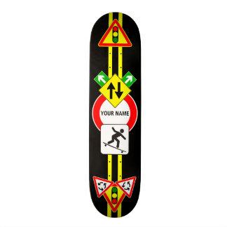 CUSTOM NAME SIGN Skateboard