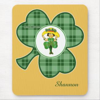 Custom Name St. Patrick's Day Fun Gift Mousepads