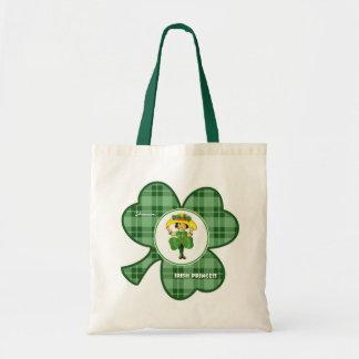 Custom Name St. Patrick's Day Gift Bags