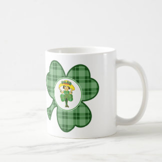 Custom Name St. Patrick's Day Gift Mugs