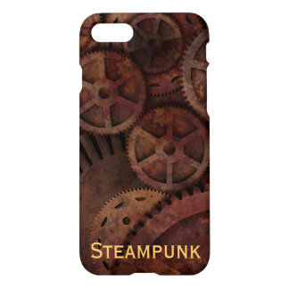 Custom Name Steampunk iPhone 7 Case