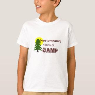 Custom name Summer Camp T-Shirt