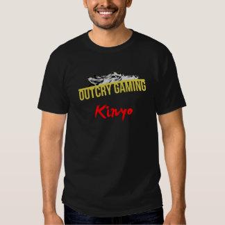 Custom Name Template T-shirt
