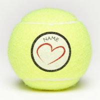 CUSTOM NAME Tennis Ball