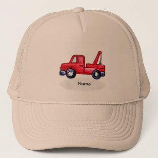 Custom Name Tow Truck Trucker Hat