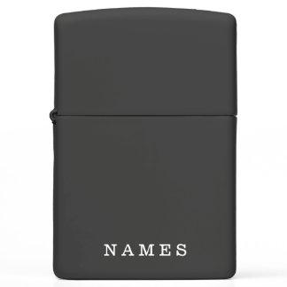 Custom Name Zippo Lighter